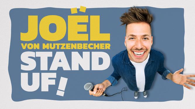 """Joël von Mutzenbecher - """"STAND UF!"""" KIFF, Foyer Aarau Tickets"""