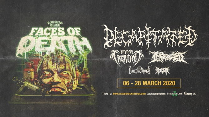 Rising Merch Faces Of Death Tour 2020 KIFF Aarau Tickets