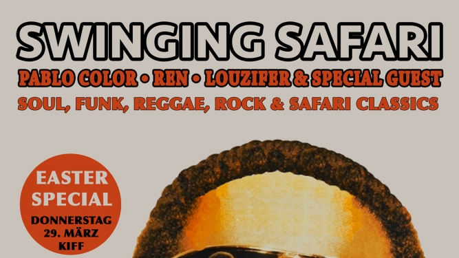 Swinging Safari KIFF, Foyer Aarau Billets