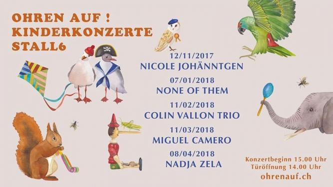 Ohren auf! Kinderkonzert Stall 6 Zürich Billets