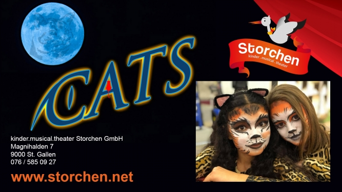 Cats Kinder.musical.theater Storchen St.Gallen Tickets