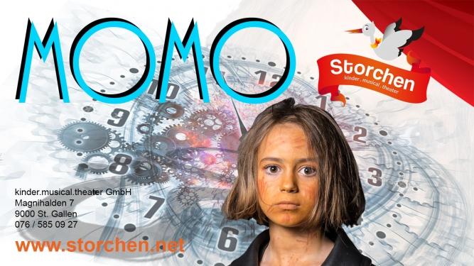 Momo Kinder.musical.theater Storchen St. Gallen Biglietti