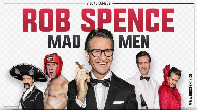 Rob Spence - Mad Men Konzepthalle6 Thun Tickets