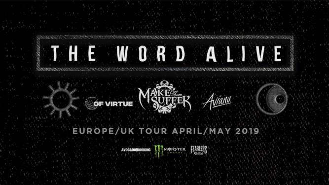 The Word Alive (USA) Kulturfabrik KUFA Lyss Lyss Tickets