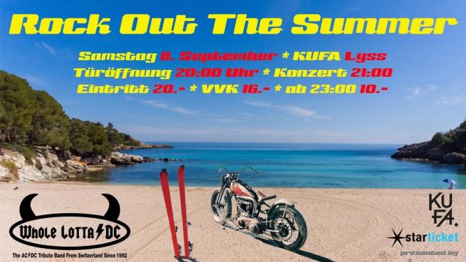 Rock Out The Summer Kulturfabrik KUFA Lyss Lyss Tickets
