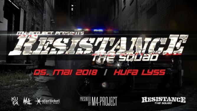 Resistance - The Squad Kulturfabrik KUFA Lyss Lyss Billets