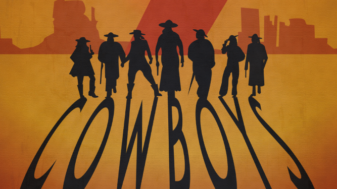 """7 Cowboys"" Diverse Locations Diverse Orte Tickets"