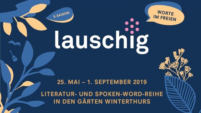 lauschig - wOrte im Freien Winterthur Winterthur Tickets