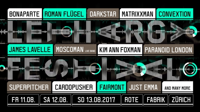 Lethargy Festival 2017 Rote Fabrik Zürich Tickets
