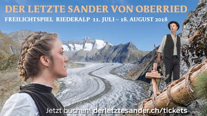 Der letzte Sander von Oberried Alpmuseum Riederalp Riederalp - Aletsch Arena Tickets