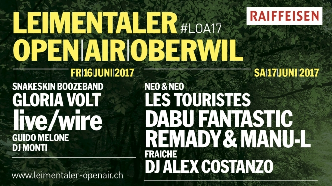 Leimentaler OpenAir Bruderholzhof Oberwil BL Tickets