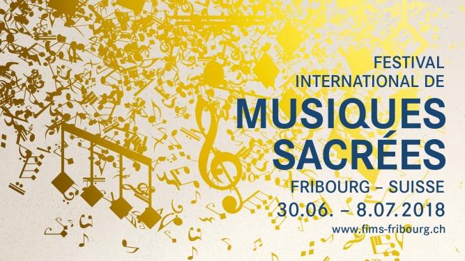 17e Festival International de Musiques Sacrées Eglise du Collège Saint-Michel Fribourg Billets
