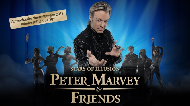 Peter Marvey & Friends 2019 MAAG Halle Zürich Biglietti