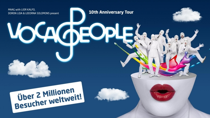 Voca People MAAG Halle Zürich Tickets
