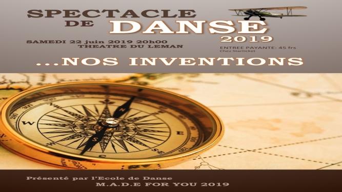 Inventions et decouvertes Théâtre du Léman Genève Tickets