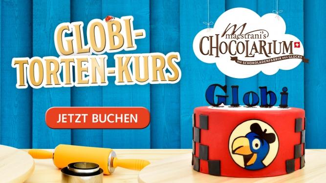 Globi Tortenkurs Maestrani's Chocolarium Flawil bei St. Gallen Biglietti
