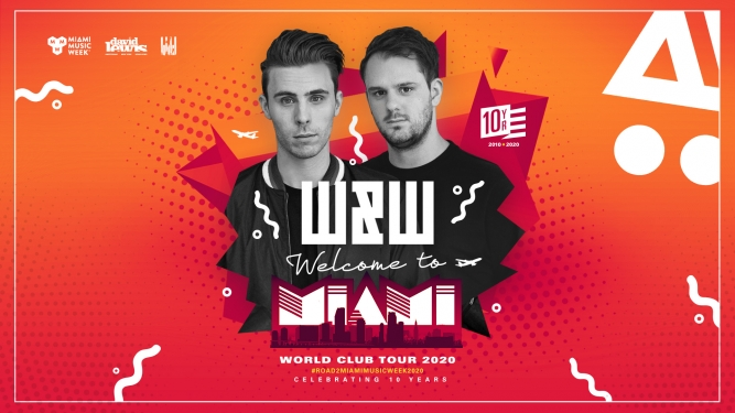 W&W - Welcome to Miami MÄX Zürich Tickets