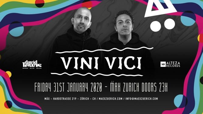 Vini Vici MÄX Zürich Tickets