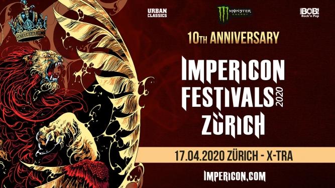 Impericon Festival 2020 X-TRA Zürich Biglietti