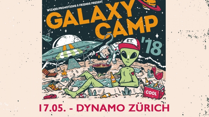 Galaxy Camp Dynamo Saal Zürich Tickets