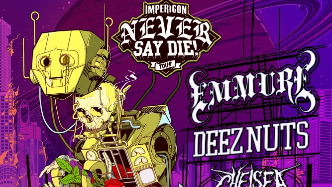Impericon Never Say Die! Tour 2017 Z7 Pratteln Biglietti