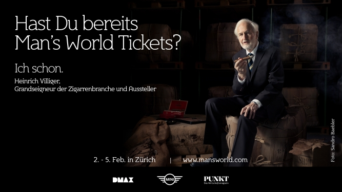 Man's World StageOne Zürich Tickets