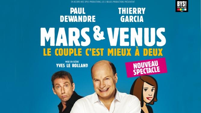 Mars et Venus Salle Centrale de la Madeleine Genève Billets