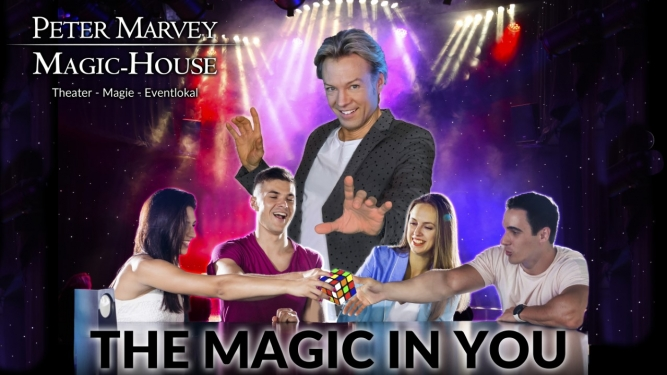 Peter Marvey - The Magic in You Magic-House Feusisberg Billets