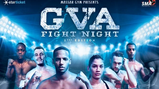 GVA Fight Night Théâtre PITOËF Genève Billets