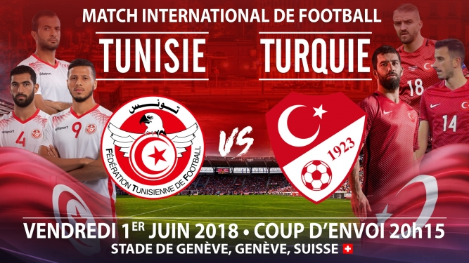 Tunisie vs Turquie Stade de Genève Genève Biglietti