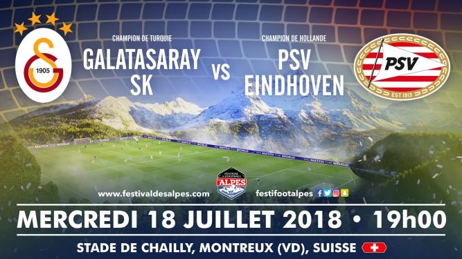 Galatasaray SK vs PSV Eindhoven Stade de Chailly Montreux Biglietti