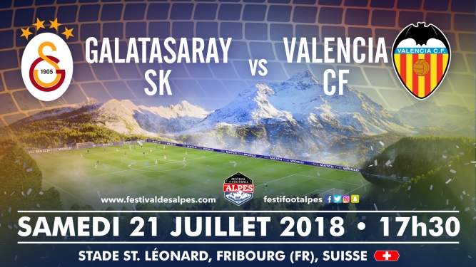 Football Club Galatasaray SK vs Valencia CF Stade St. Léonard Fribourg Tickets
