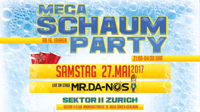 Mega Schaumparty Keller + Hess Areal Regensdorf Tickets