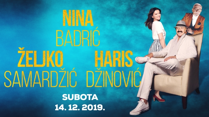 Haris Dzinovic, Nina Badric Zeljko Samardzic Live Stadthalle Dietikon Tickets