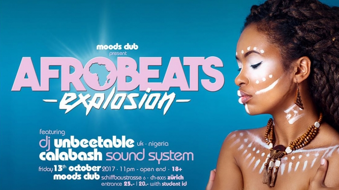 Afrobeats Explosion Moods Zürich Billets