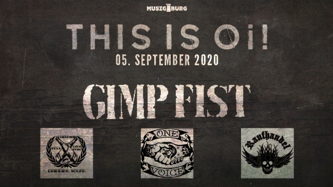 This is Oi: Gimp Fist, One Voice, Raufhandel, Drinking Squad Musigburg Aarburg Billets