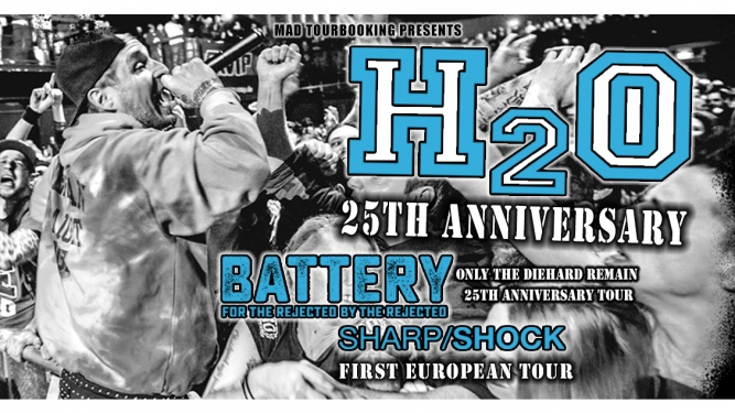 H2O-25 TH Tour mit Battery & Shar Shock Musigburg Aarburg Tickets