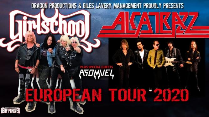 Alcatrazz + Girlschool + Asomvel Musigburg Aarburg Tickets