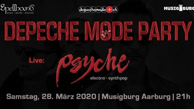 Depeche Mode Party Musigburg Aarburg Billets