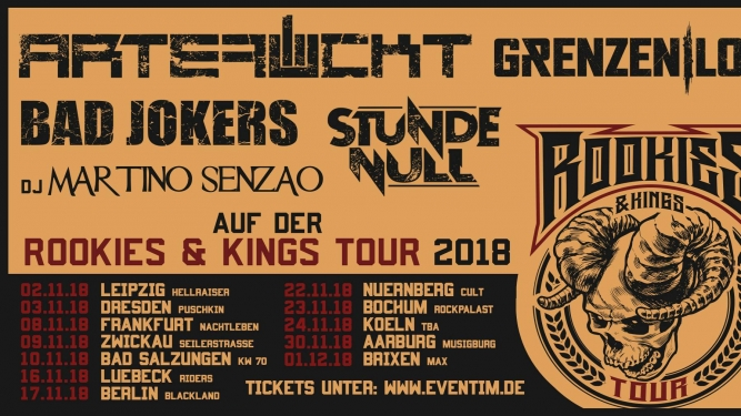 Rookie & Kings Tour Musigburg Aarburg Tickets