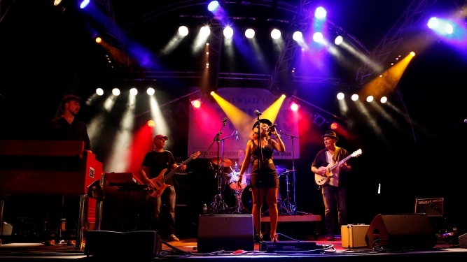 Rotosphere feat. Justina Lee Brown (CH/NIG) Nordportal / Fjord Baden Tickets