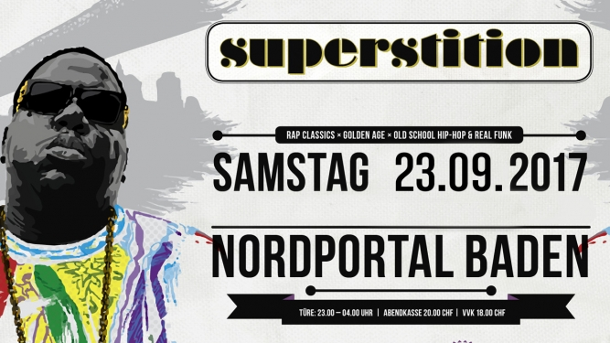 Superstition Nordportal Baden Biglietti