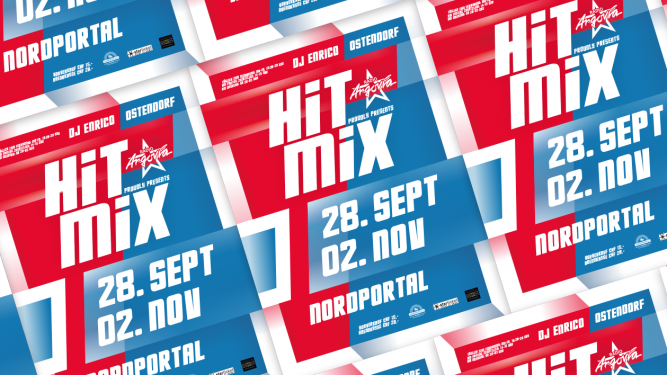 Hit Mix Party Nordportal / Halle Baden Tickets