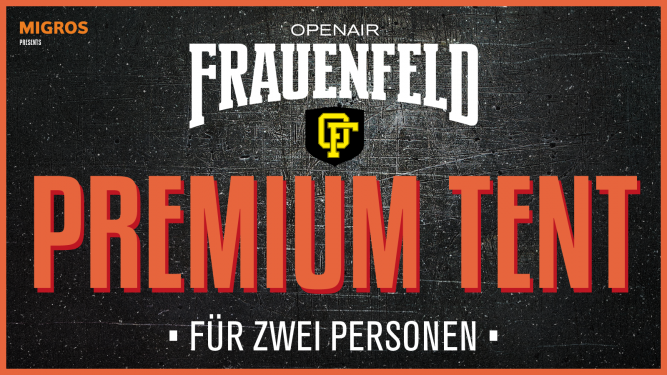 Premium Tent Package Grosse Allmend Frauenfeld Tickets