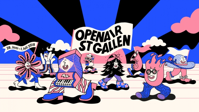 OpenAir St.Gallen 2018 Sittertobel St. Gallen Tickets