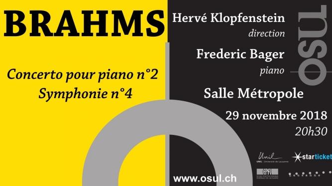 Brahms Salle Métropole Lausanne Billets