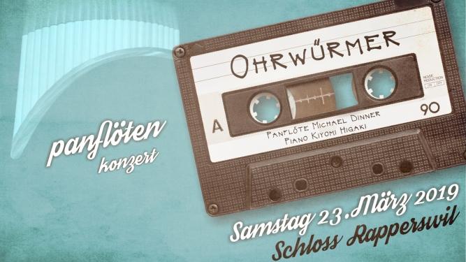 """Panflötenkonzert """"Ohrwürmer"""" Schloss Rapperswil, Grosser Rittersaal Rapperswil-Jona Tickets"""