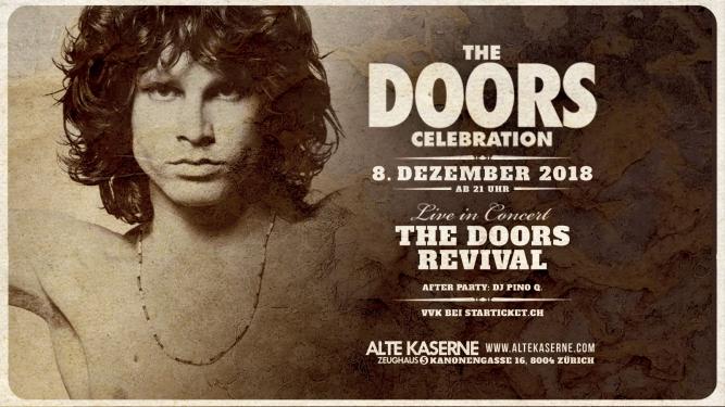 The Doors Celebration Alte Kaserne Zürich Biglietti