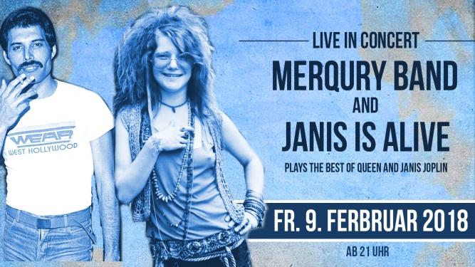 The Best of Queen & Janis Joplin Alte Kaserne Zürich Tickets