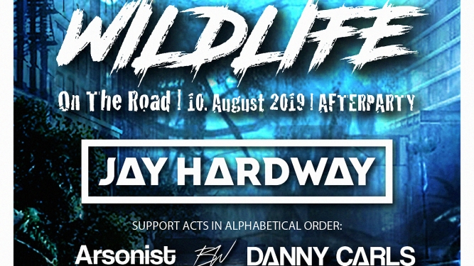 Wildlife with Jay Hardway (NL) Plaza Zürich Tickets